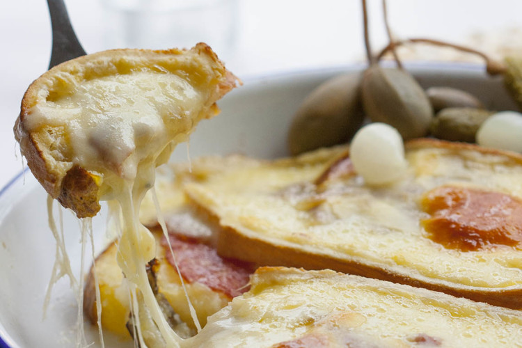 Cheesy Raclette