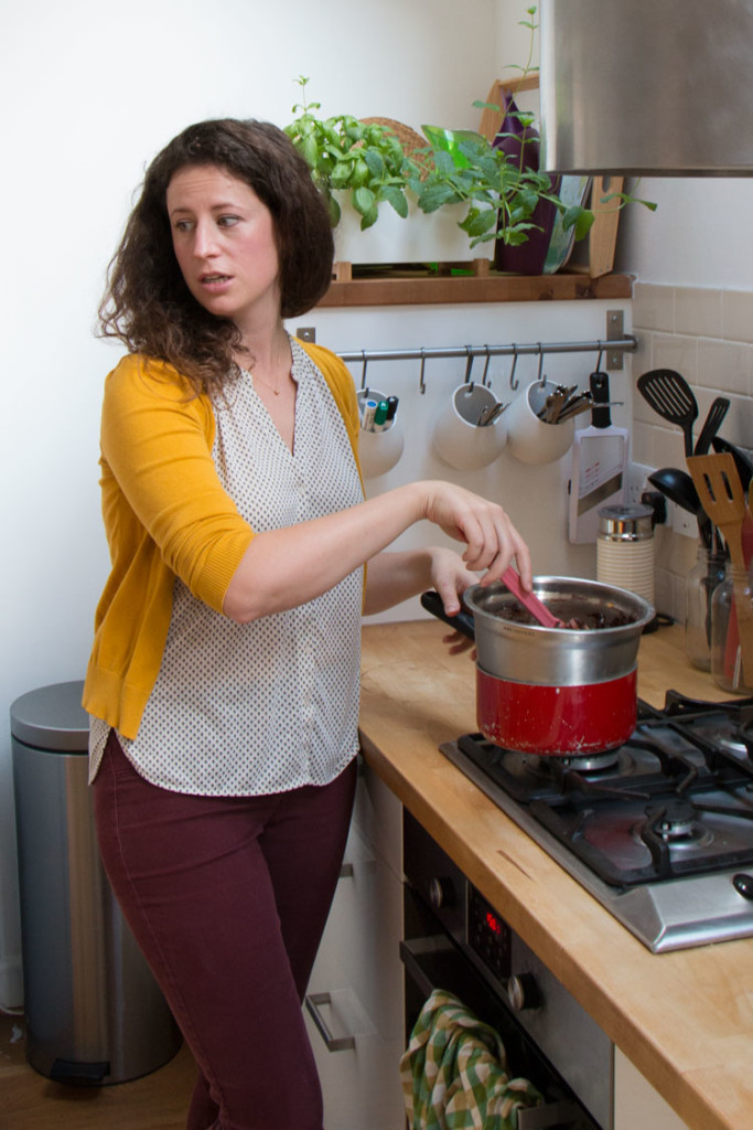 Andree-Anne cooking