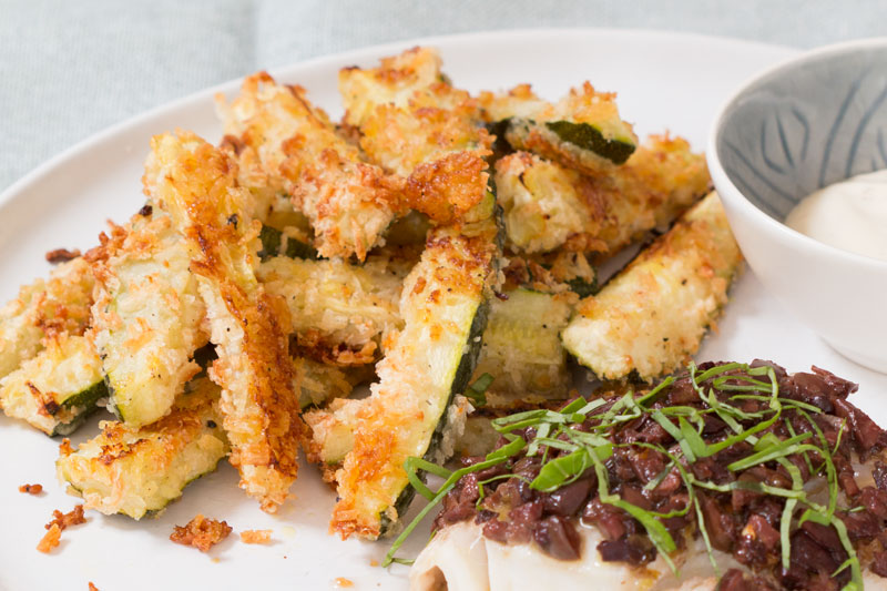 courgette parmesan fries